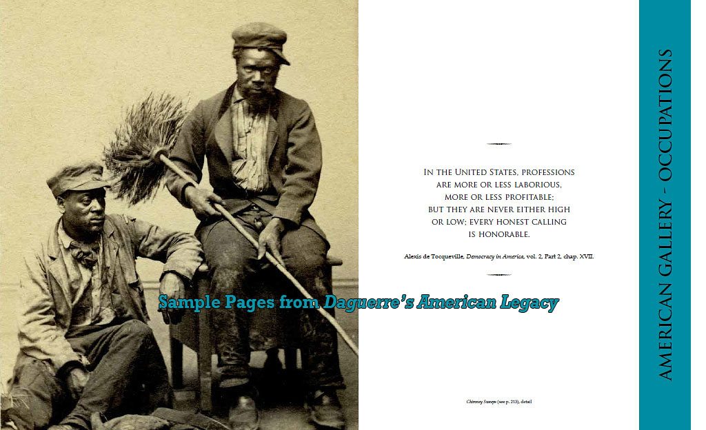 "sample page - Occupationals - African American tradesmen - ""Daguerre's American Legacy"""